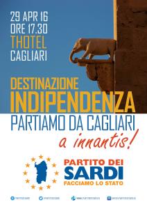Cagliari, T Hotel, ore 17:30: Indipendenza e sincerità  Dirò alcune cose che penso da tempo