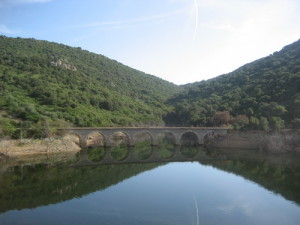 ponte trenino verde lago liscia