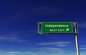 L'indipendenza è cosa seria