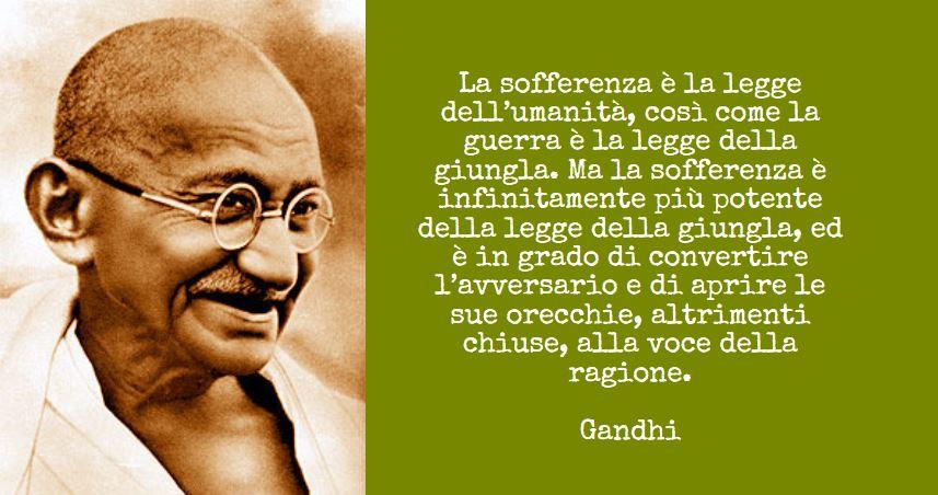 Io, Gandhi e la giustizia italiana