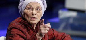 """Emma Bonino, leader di +Europa, durante la trasmissione di Raiuno """"Porta a Porta"""", Roma, 24 gennaio 2018. ANSA/RICCARDO ANTIMIANI"""