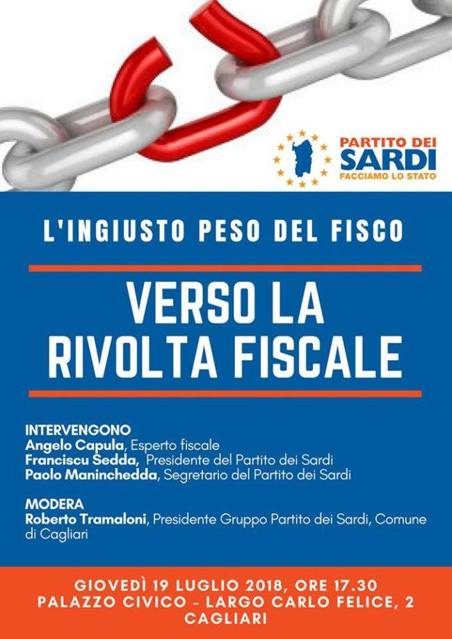 Giovedì a Cagliari: primo test di rivolta fiscale. Con un post scriptum per il Qatar