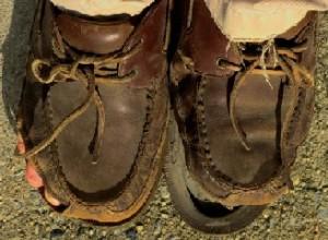 senza scarpe
